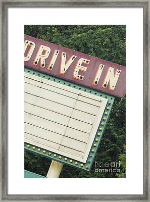 Drive In I Framed Print by Margie Hurwich