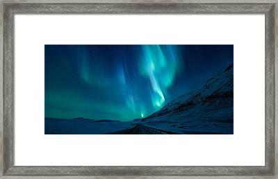 Driving Home Framed Print by Tor-Ivar Naess