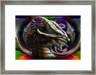 Drogon Framed Print by Mario Carini