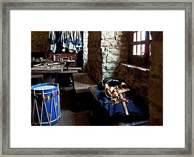 Drum Corps 3 Framed Print by Peter Chilelli