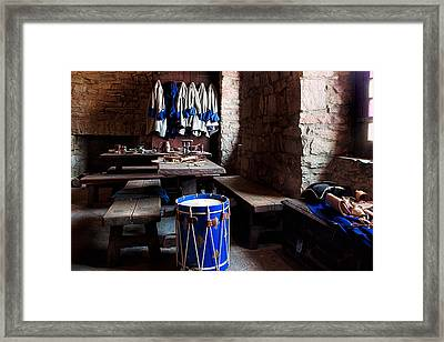 Drum Corps  Framed Print by Peter Chilelli