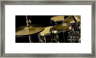 Drums Collection Framed Print by Marvin Blaine