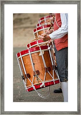 Drums Of The Revolution Framed Print by Christopher Holmes