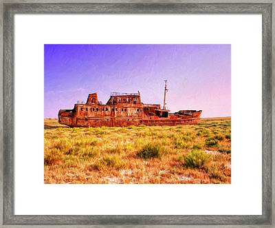 Dry Dock Framed Print by Dominic Piperata