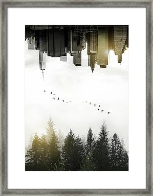 Duality Framed Print by Nicklas Gustafsson