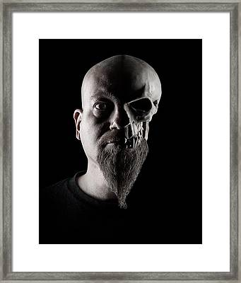 Duality Framed Print by Petri Damsten