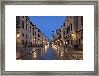 Dubrovnik Framed Print by Contemporary Art