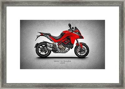 Ducati Multistrada Framed Print by Mark Rogan