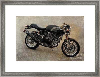Ducati Framed Print by Teresa Zieba