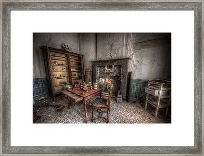 Duchess Kitchen Framed Print by Nathan Wright