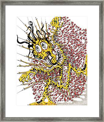 Dude A Bad Day Framed Print by Jack Norton