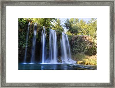 Duden Waterfall - Turkey Framed Print by Joana Kruse