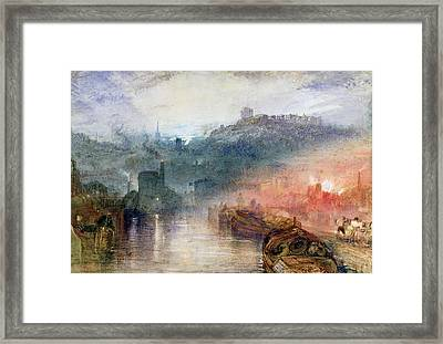 Dudley Worcester Framed Print by Joseph Mallord William Turner