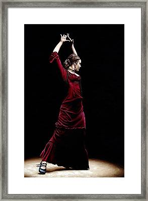 Duende Framed Print by Richard Young