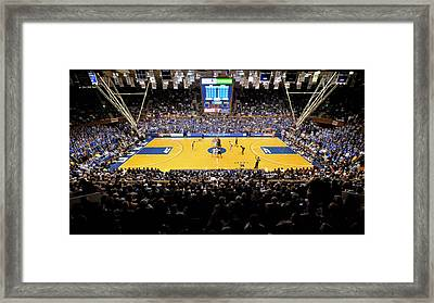 Duke Blue Devils Cameron Indoor Stadium Framed Print by Replay Photos