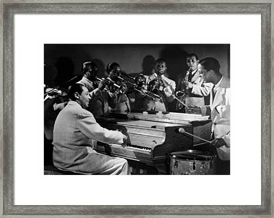 Duke Ellington And His Famous Orchestra Framed Print by Everett