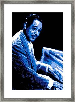 Duke Ellington Framed Print by DB Artist
