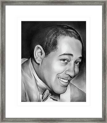 Duke Ellington Framed Print by Greg Joens