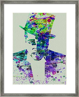 Duke Ellington Framed Print by Naxart Studio