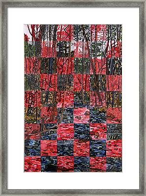Duke Forest Framed Print by Micah Mullen