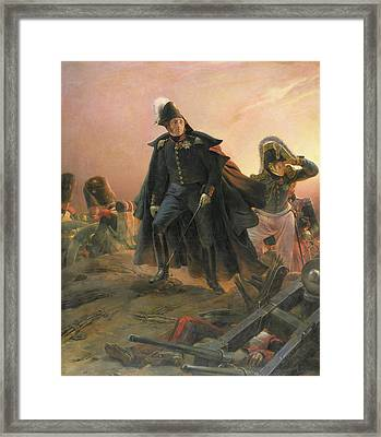 Duke Of Angouleme At The Capture Of Trocadero Framed Print by Hippolyte Delaroche