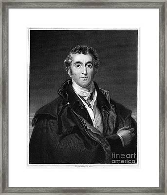 Duke Of Wellington Framed Print by Granger