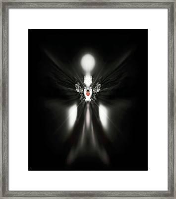 Dumah Framed Print by Raymel Garcia