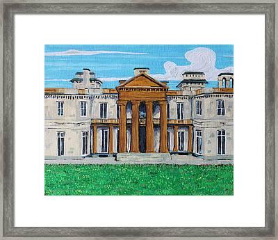 Dundrun Castle, Hamilton Ontario Framed Print by Bridget Brummel