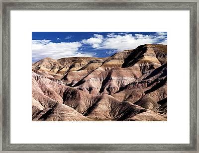 Dunes Of Arizona Framed Print by JT Alexander