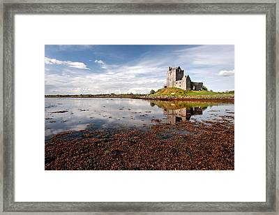 Dunguaire Castle Kinvara Co Galway Ireland Framed Print by Pierre Leclerc Photography