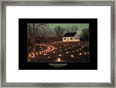 Dunker Church 07 Framed Print by Judi Quelland