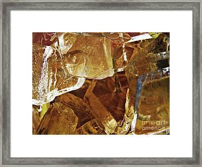 Dunkin Ice Coffee 6 Framed Print by Sarah Loft
