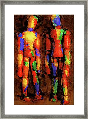 Duo Framed Print by Jeff  Gettis