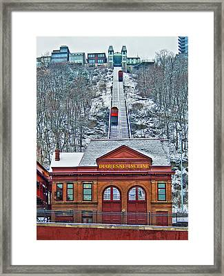 Duquesne Incline Framed Print by Mark Dottle