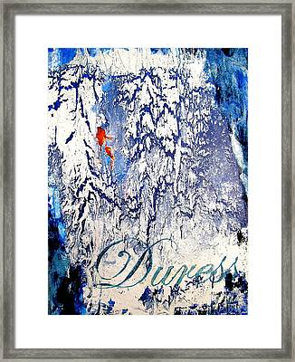Duress Framed Print by Laura Pierre-Louis
