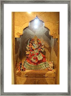 Durga, Ane Publishing, Delhi Framed Print by Jennifer Mazzucco