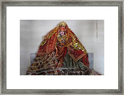 Durga Devi, Near Kainchi Framed Print by Jennifer Mazzucco