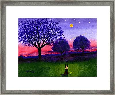 Dusk Framed Print by Todd Young