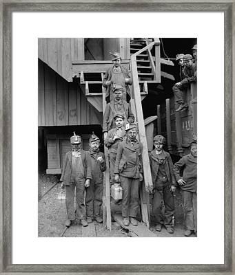 Dust Covered Breaker Boys Framed Print by Everett