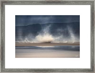 Dust Devil 2 Framed Print by Leland D Howard