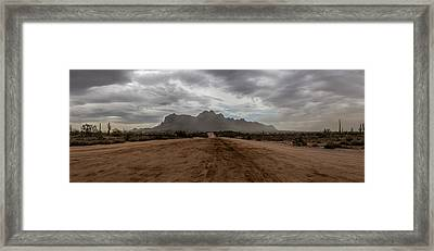Dusty Superstitions Framed Print by Chuck Brown