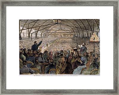Dwight L. Moody (1837-1899) Framed Print by Granger