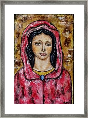 Dyanne Framed Print by Rain Ririn