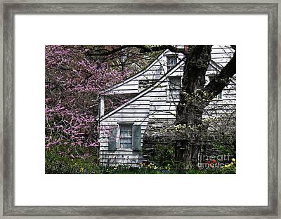 Dyckman House 1 Framed Print by Sarah Loft