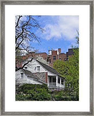 Dyckman House 2 Framed Print by Sarah Loft