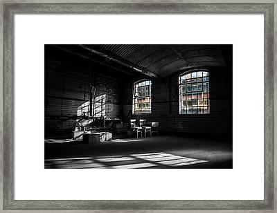 Dying Inside Framed Print by Chris Fletcher