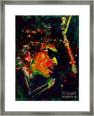 Dylan Framed Print by Greg and Linda Halom