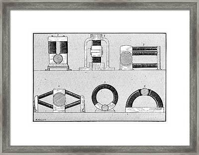Dynamo Types, 19th Century Framed Print by Spl