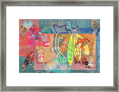 Dynasty At Large Framed Print by Jimi Bush