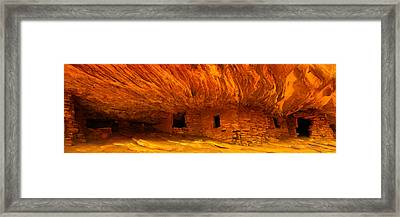 Fire House Framed Print by Mikes Nature